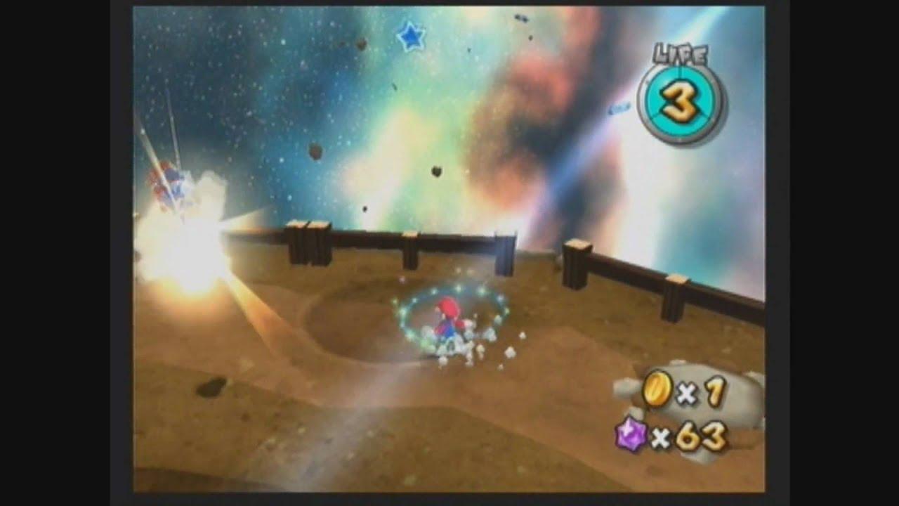 Super Mario Galaxy 2 - Boulder Bowl Galaxy secret star: C ...