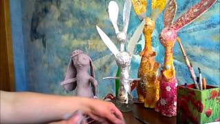 уроки папье-маше Татьяны Молодой - урок №4