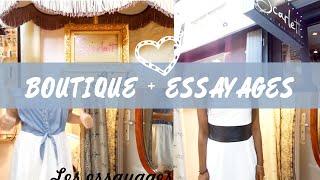 Présentation d'une boutique + essayages : Scarlett (à Nice) Thumbnail