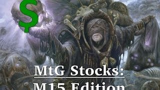 MtG Stocks -M15 Card Value Projections