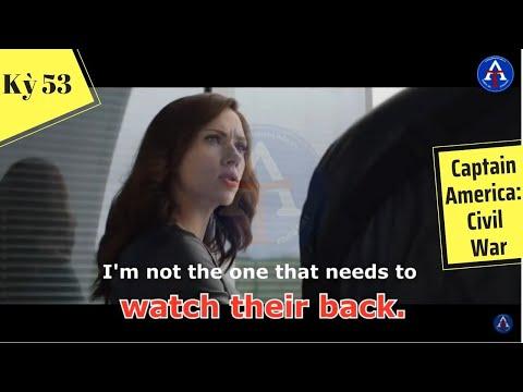 [HỌC IDIOM QUA PHIM] - Watch Your Back (Phim Captain America: Civil War)