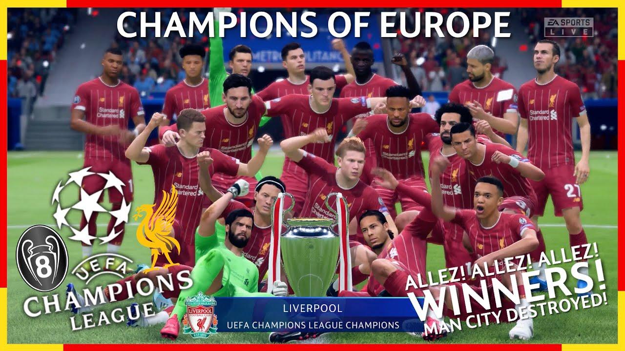 Manchester City Vs Liverpool - Final 2021 # ...