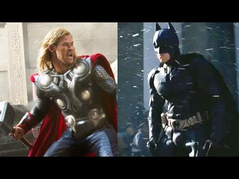 The Avengers 2012 vs The Dark Knight Rises 2012 Box Office : Beyond The Trailer