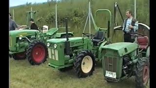 6. Holdertreffen - Holder Traktoren in Großenwieden an der Weser 2002 - mit Holder A30