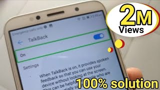 "How to fix ""TalkBack"" double tap to activate problem in any any Android phone d tech side"