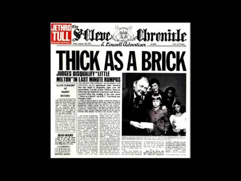 Jethro Tull - Thick as a Brick [Full Album]