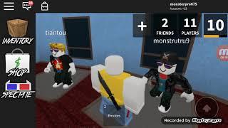 Monstrutru9 ile monsterpro675 roblox murder master çekiyoruz