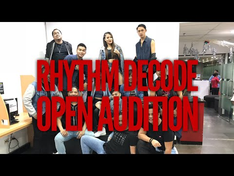 Rhythm Decode | 2018 Open Auditions