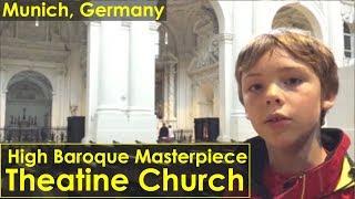 High Baroque Style - Theatine Church, Munich