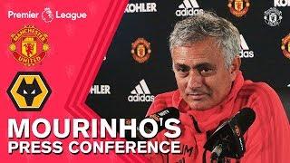 Jose Mourinho Press Conference | Manchester United v Wolverhampton Wanderers | PL 18/19