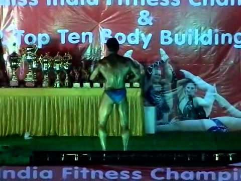 1st Mr. U.P. Top Ten Body Building Championship In Bulandshahr 28-09-2012