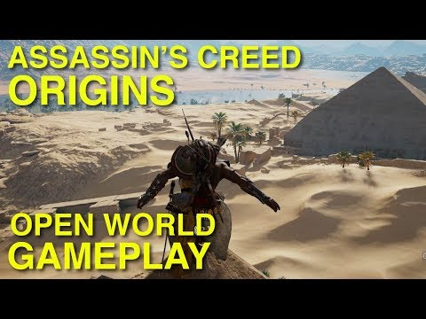 Assassin's Creed Origins - Open World Free Roam Gameplay (No Commentary, Xbox One X, 4k)