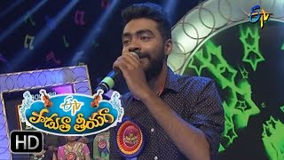 Ninnu Road Meeda Song |Sai Kiran Performance in ETV Padutha Theeyaga | 25th Dec 2016