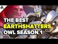 Top 5 Reinhardt Earthshatter Plays | Overwatch League Season 1