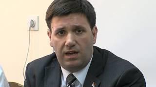 Niš, KCN, državni sekretar Ministarstva zdravlja MIloš Jeftović o politici nataliteta u Srbiji