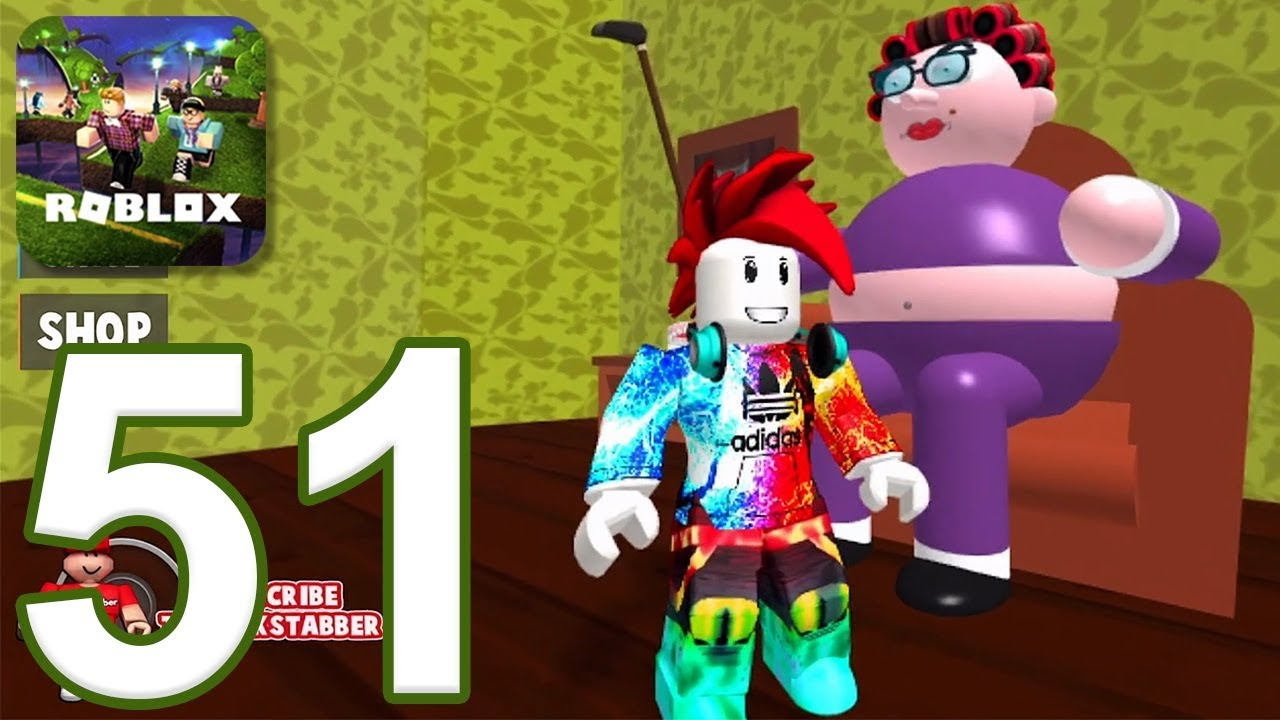 Roblox Gameplay Walkthrough Part 51 Escape Grandmas House Ios