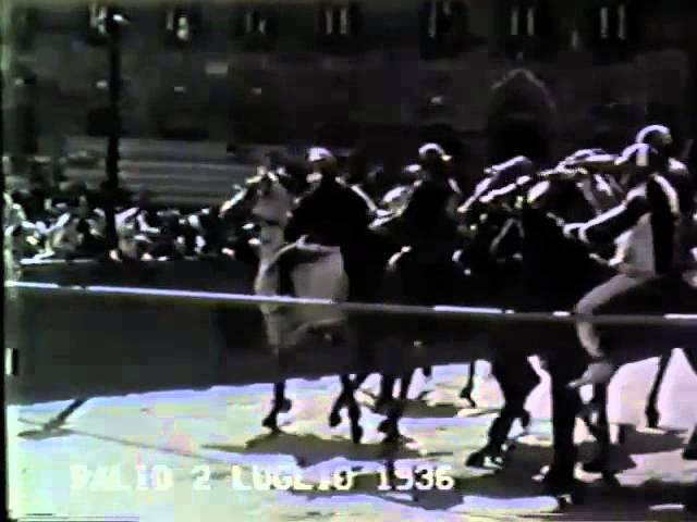 Palio 2 luglio 1936
