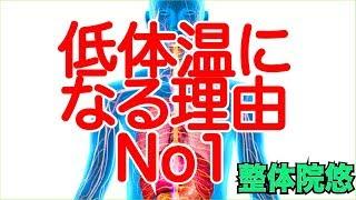 【低体温 原因】なぜ低体温になるの? 京都 体質改善 伏見桃山 整体