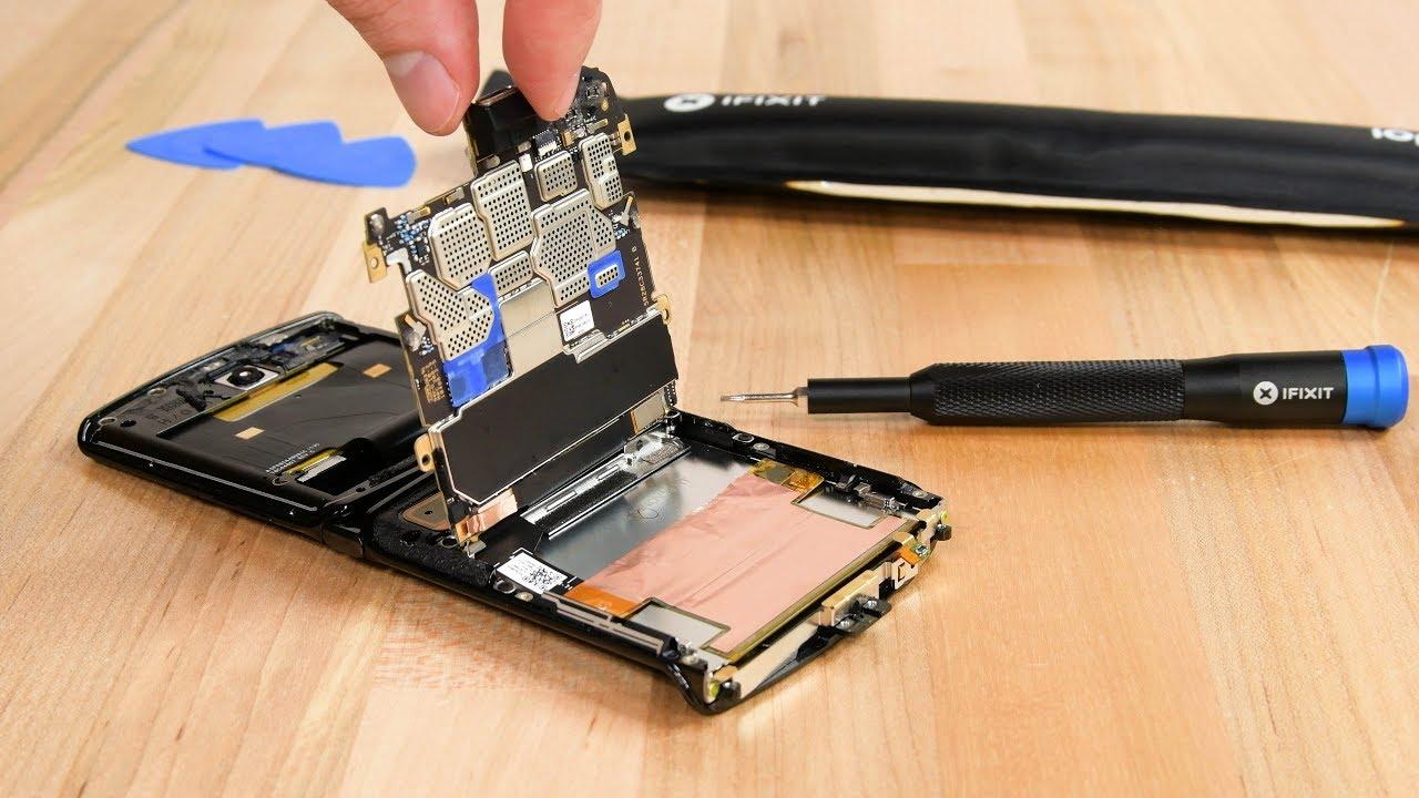 Ремонтопригодность или телефон с самой сложной конструкцией