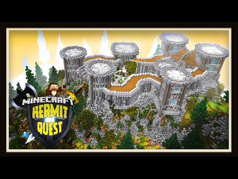 Hermit Quest: Completing The Castle Walls And Towers!