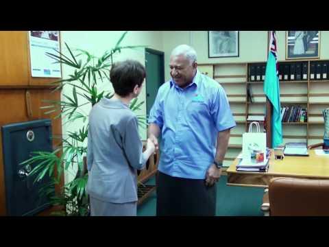Fijian Prime Minister Holds Talks With New American Ambassador to Fiji