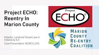 MCRC Reentry ECHO - Mar. 2021