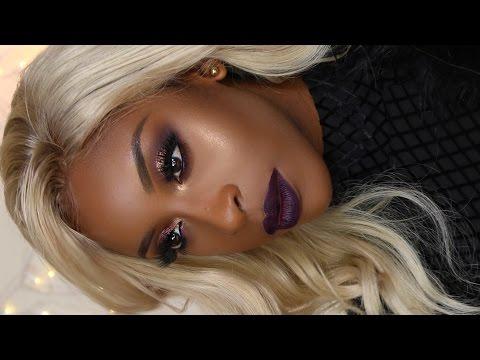 Glam Christmas Makeup Tutorial | Jackie Aina