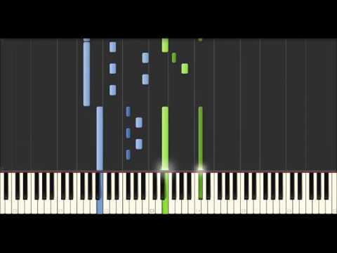 Yann Tiersen - Tempelhof (Synthesia Tutorial)