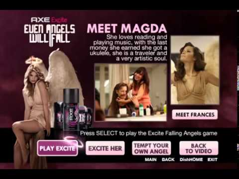 AXE Angels Advanced TV Campaign
