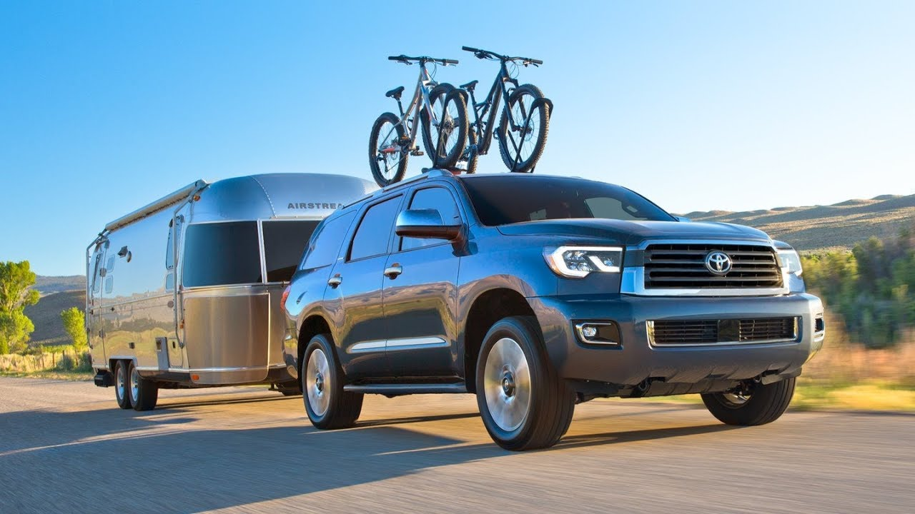 2019 Toyota Sequoia Redesign Spy Photos Interior And Exterior Features
