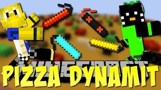 PIZZA mit  ZUFÄLLIGEM DYNAMIT!! - Lucky Dynamit #1