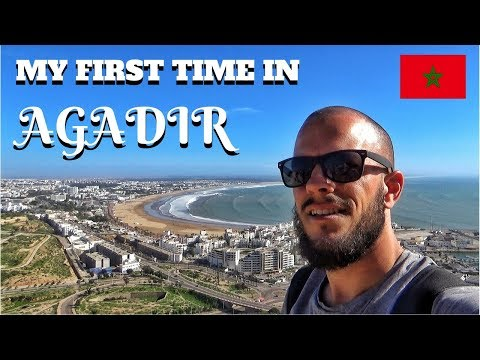 AGADIR MOROCCO - Hanging With Locals & Kasbah Oufella