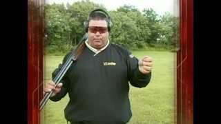 Спортинг.стрельба боковой-улетающей мишени.