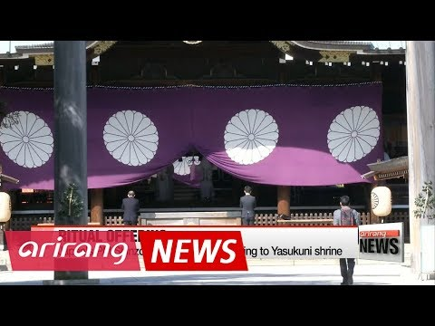 Japan's PM Abe sends ritual offering to Yasukuni shrine