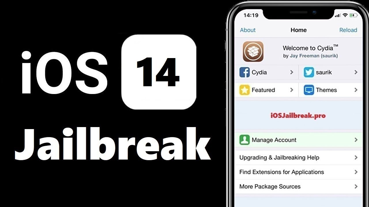 iOS 14 - 14.0.1 Jailbreak | How to Jailbreak iOS 14 | Cydia iOS 14 - YouTube