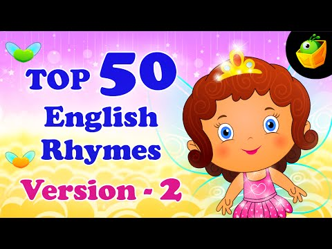 Top 50 Hit Songs Version 2 For Kids  Compilation of Best Children English Nursery Rhymes