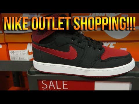 Nike Sneaker Shopping - Myrtle Beach Tanger Outlet
