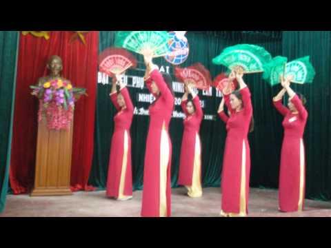 Một số tiết mục văn nghệ tại đại hội liên hiệp phụ nữ xã Minh Đức.(2)