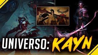 UNIVERSO: La historia de KAYN y RHAAST | League Of Legends LoL