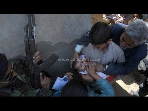 Dunya News - Khyber Agency, Three bomb blasts targeting polio team kill twelve