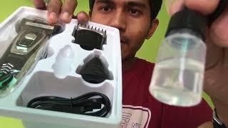 KEMEI KM 5558 3in1 (alat cukur kumis jenggot dan rambut)