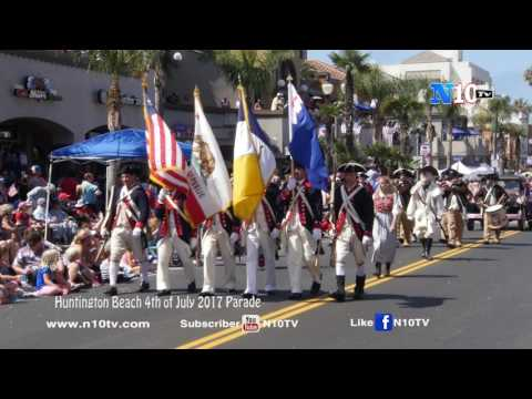 Huntington Beach 4th Of July Parade 2017