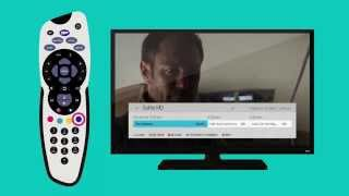 How to set favourite channels on SKY   SKY TV