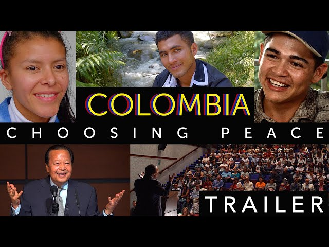 Colombia: Choosing Peace Trailer (English)