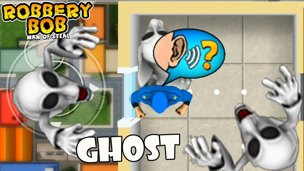 Robbery Bob Using MARIO GHOST Suit Part 9
