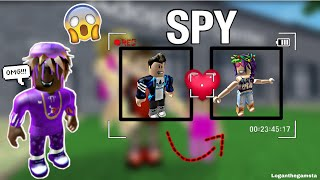 BEING A DETECTIVE SPY IN ROBLOX (SPYING ON ODERS)