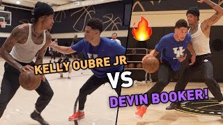 """Casual People Can't See It."" Devin Booker Goes At NEW TEAMMATE Kelly Oubre Jr. In Unseen Hours! 😱"