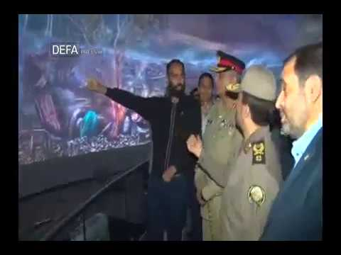 Iran Pakistan military chief visits Islamic Revolution & Holy Defense Museum