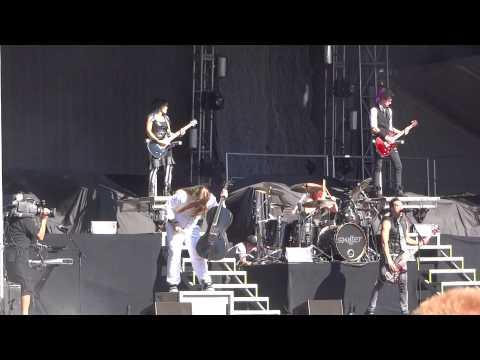 Skillet Awake and Alive Aftershock Festival 2013