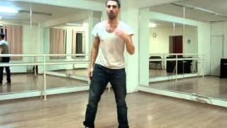 Уроки танцев online. Экспресс курс для мужчин.1-й урок танцев online (демонстрация)